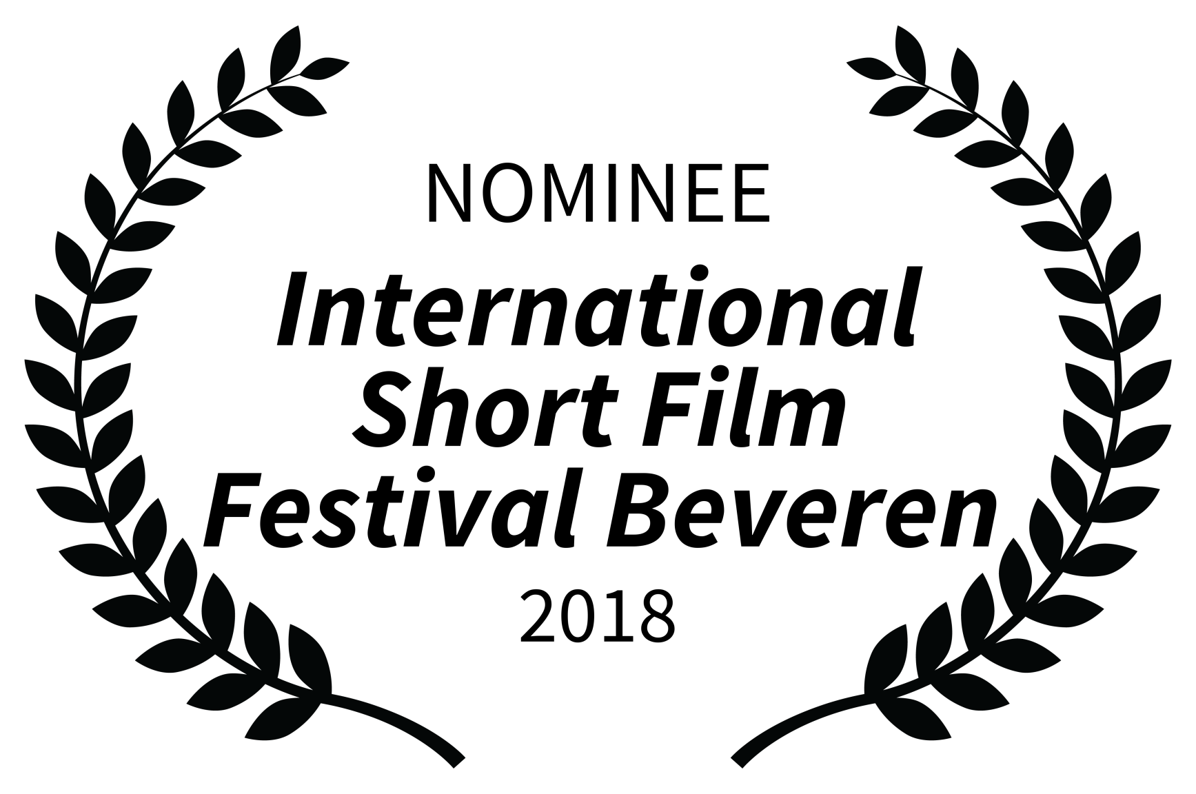 NOMINEE - International Short Film Festival Beveren - 2018