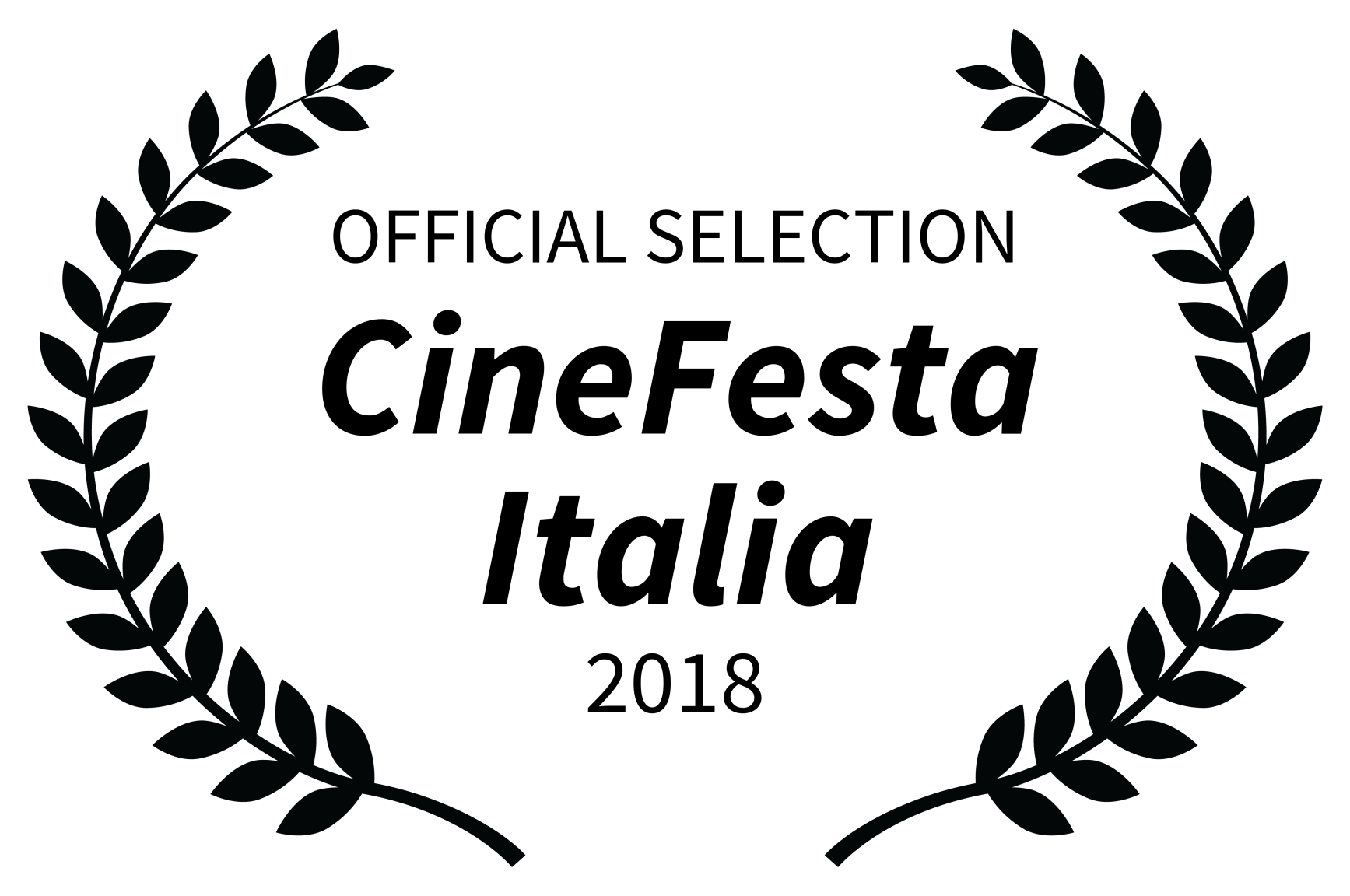 OFFICIAL SELECTION - CineFesta Italia - 2018