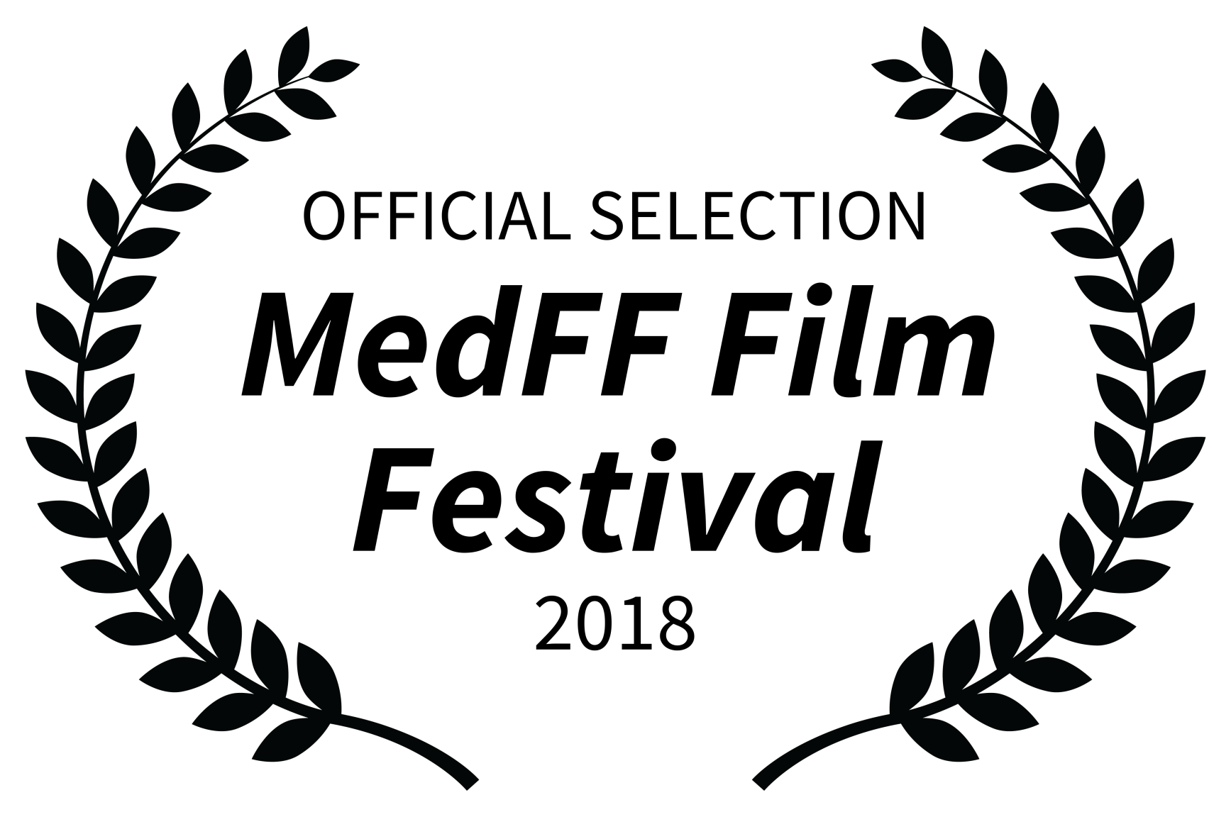 OFFICIAL SELECTION - MedFF Film Festival - 2018