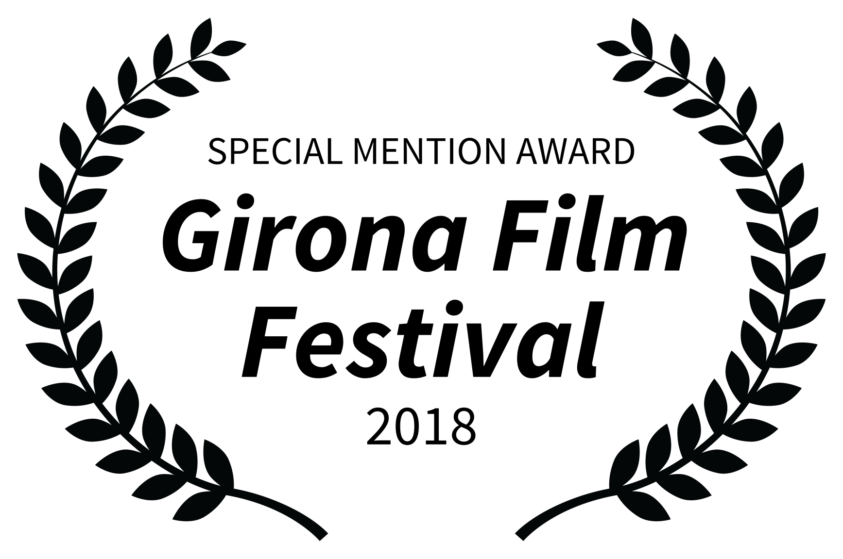 SPECIAL MENTION AWARD - Girona Film Festival - 2018