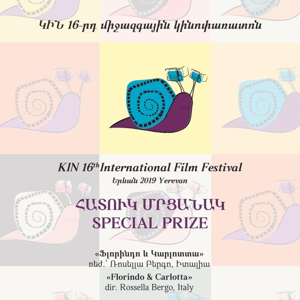 Special Prize Florindo e Carlotta